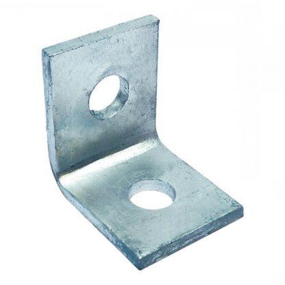 Angle brackets - 90 degree fittings - 2 holes - photo