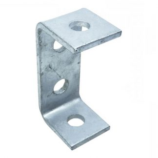 Angle brackets - U shape fittings - 4 holes - photo