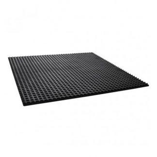 Anti-vibration waffle pads - rubber mats - photo