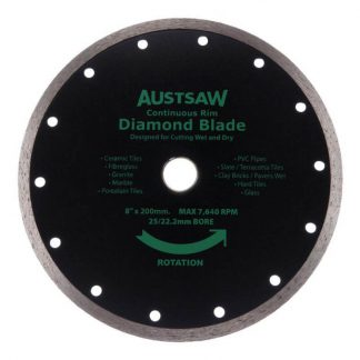 Austsaw diamond blades - continuous rim - photo