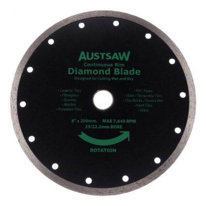 Austsaw diamond blades - continuous rim - photo