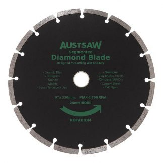 Austsaw diamond blades - segmented rim - photo