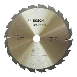 Bosch Optiline circular saw blades - for wood - photo