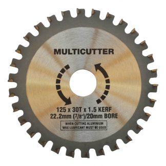 Craftmaster multicutter saw blades - for plastic, aluminium, timber & fibreglass - photo
