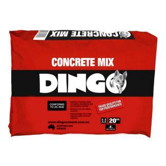 Dingo concrete mix - photo