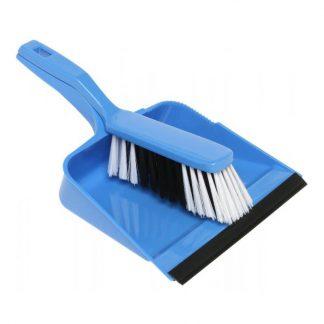 Edco dust pan & brush broom set - photo