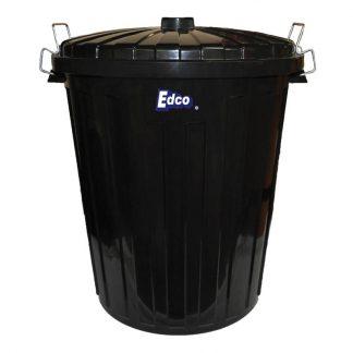 Edco garbage bins - with lid - photo