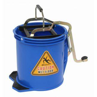 Edco mop bucket - with metal wringer - photo