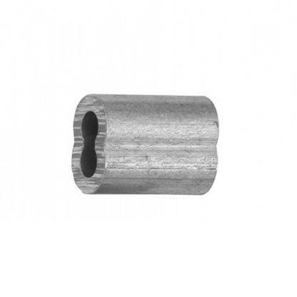Ferrules - with hand swage crease - for wire rope - photo