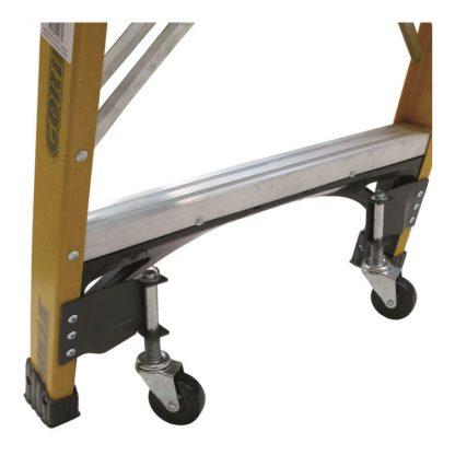 Gorilla platform ladder wheel kit - photo