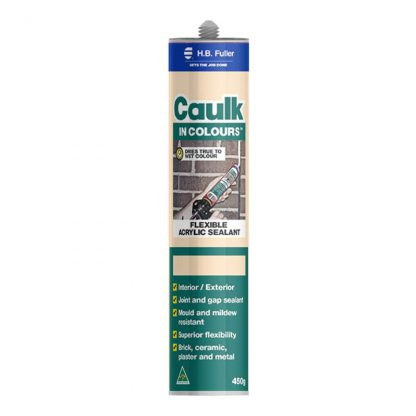 H.B. Fuller Caulk in colours acrylic sealant - photo
