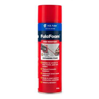 H.B. Fuller FulaFoam fire resistant expanding foam - photo