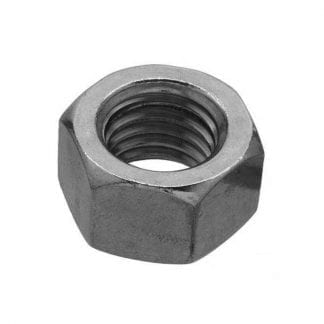 Hex nuts - BSW thread - imperial - photo