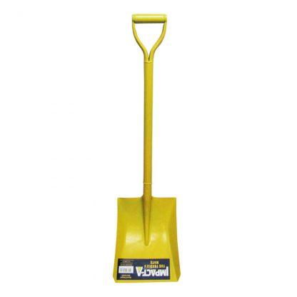 Impact-A shovel - square mouth - D handle - photo