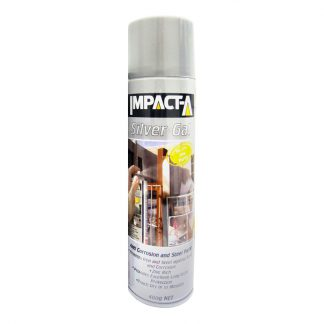Impact-A silver gal - anti-corrosion spray paint - photo