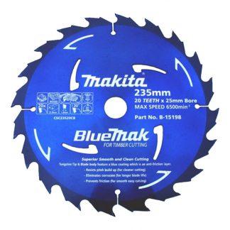 Makita BlueMak circular saw blades - for timber - photo