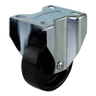 Richmond plate castors - 200kg load capacity - rigid - photo