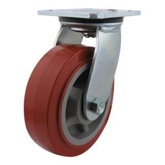 Richmond plate castors - 400kg load capacity - swivel - photo