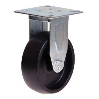 Richmond plate castors - 50kg load capacity - rigid - photo
