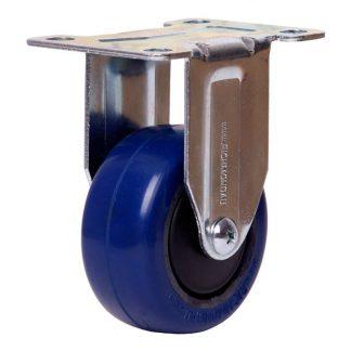 Richmond plate castors - 80kg load capacity - rigid - photo