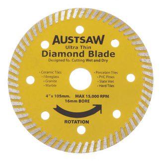 Austsaw diamond blades - ultra thin photo