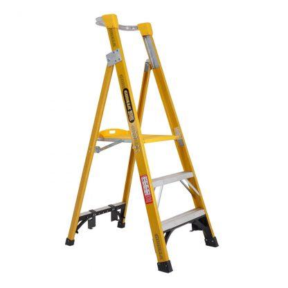 Gorilla platform ladders - industrial - fibreglass photo