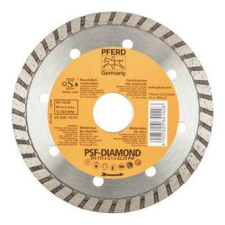 PFERD diamond cut-off blades - turbo rim photo