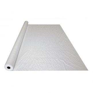 Polytarp woven floor protection - white polyweave